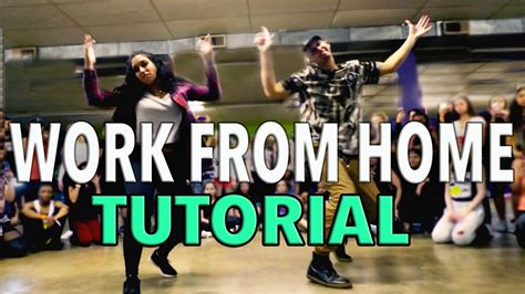 tutorial dance live work from home fifth harmony dance tutorial