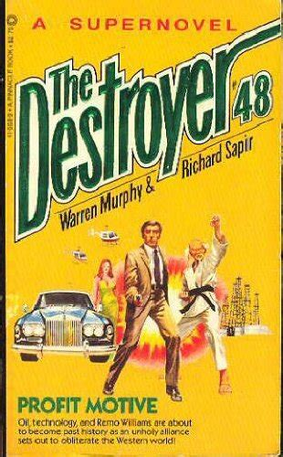 serious motives books the destroyer book series the destroyer books in order