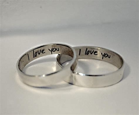 Wedding Rings Engraved Ideas by Awesome Wedding Rings Engraving Ideas Matvuk