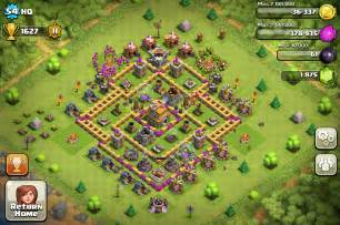 1731 kb png coc th7 base 650 x 481 752 kb png defense coc level 7 cara