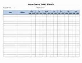 cleaning schedule template for office house cleaning schedule open office templates