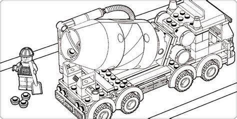 lego truck coloring page lego com city downloads coloring pages coloring page