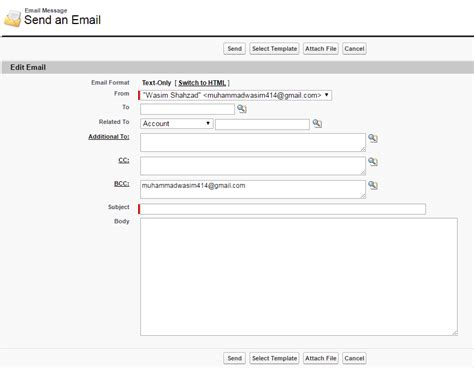 email page layout singleemailmessage can you embed the standard activity