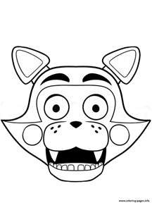 fnaf coloring pages freddy fnaf freddy five nights at freddys foxy coloring pages