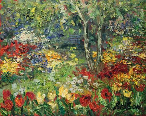 garden paintings serson butchart garden painting goes to south korea