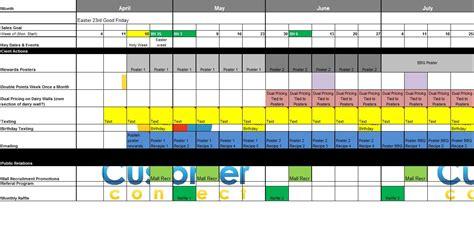 Butchers Loyalty Software Brand Calendar Template
