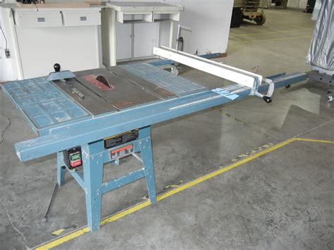 jet table saw fence jet model jwts 10 10 quot table saw with rip fence s n 60714380