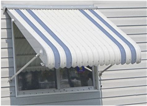 Clamshell Awning by Aluminum Awning Color Options Haggetts Aluminum