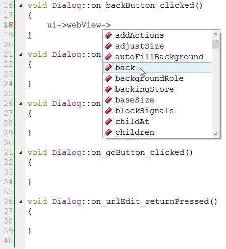 qt tutorial void qt5 webkit tutorial web browser with qtcreator using