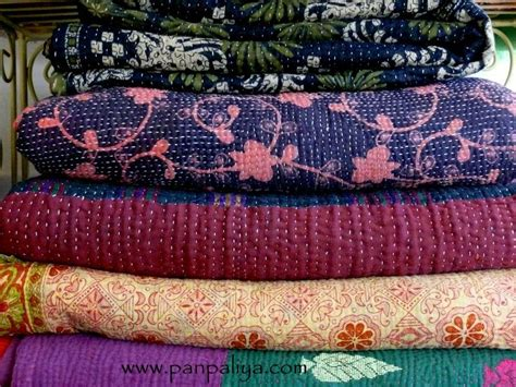 Quilts From India by Indian Vintage Kantha Quilts