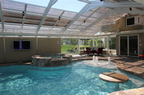 indoor and outdoor pool indoor outdoor living traditional pool chicago by