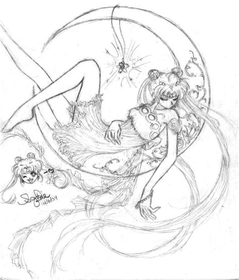 Serenity 4 Free Coloring Pages Sailor Moon Princess Serenity Coloring Pages Free Coloring Sheets