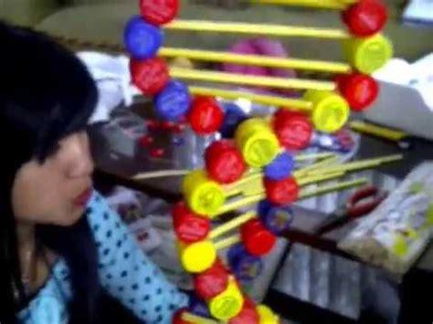 cadena de adn con limpiapipas como elaborar una maqueta de adn con materiales reciclados