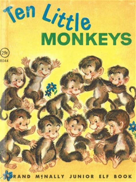 10 monkeys jumping on the bed ten little monkeys