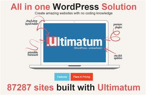 ultimatum theme creator review of 8 best wordpress layout builder themes and plugins