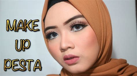 tutorial makeup pesta pernikahan party makeup tutorial tutorial makeup ke pesta youtube