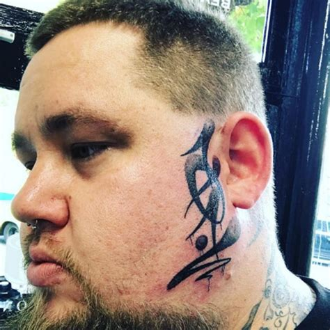 tattoo face instagram rag n bone man shocks fans after unveiling huge tattoo