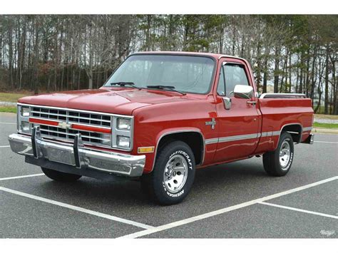 87 chevrolet truck for sale 1987 chevrolet silverado for sale classiccars cc