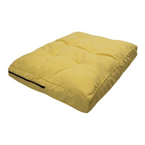 pillow top dog bed replacement cover snoozer orthopedic pillow top dog bed