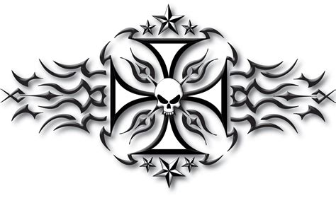 iron cross tattoo designs back tattoos ands