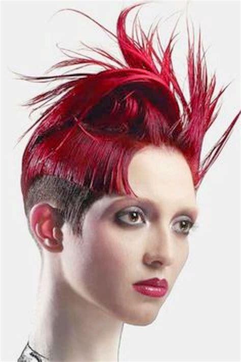 pelo corto moda cabellos cortes de cabello extravagante para pelo