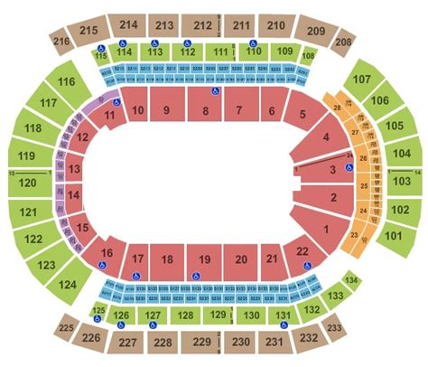 prudential center floor plan prudential center tickets in newark new jersey prudential