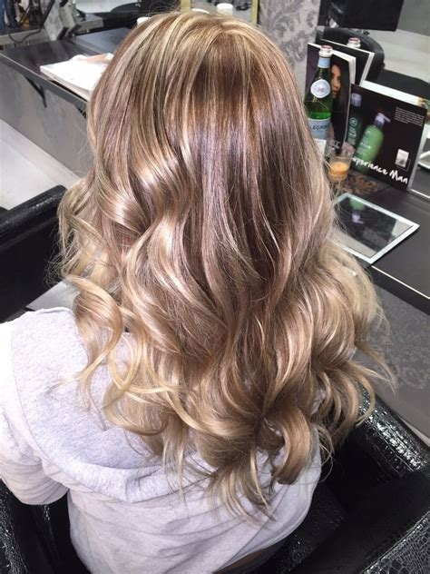 natural hair salon lake city florida blond highlights with dark natural roots and soft ombr 233