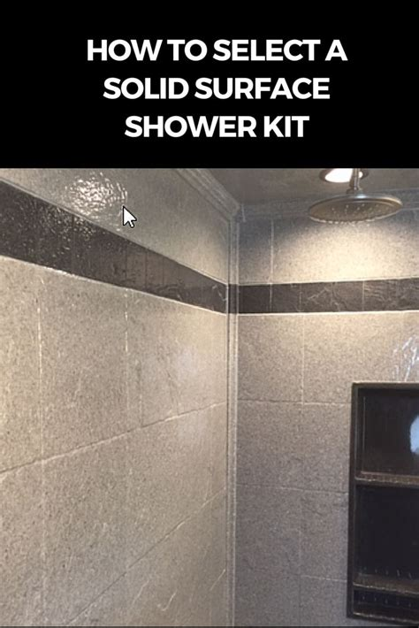 solid surface shower walls images  pinterest