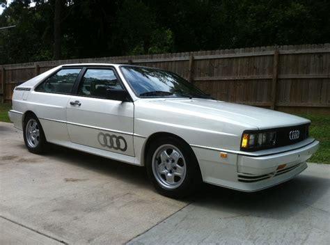Audi Quattro Coupe For Sale by 1983 Audi Quattro Turbo Coupe For Sale Rear Illinois Liver