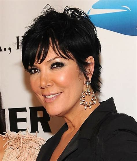 back of chris jenner s hair 30 astonishing black short hairstyles creativefan
