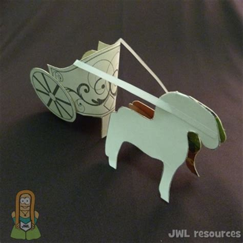 chariot template sunday school crafts for story of elijah bible crafts