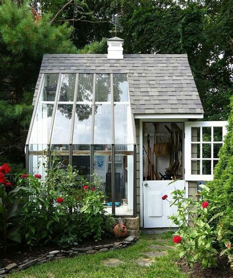 greenhouse shed combo greenhouses  garden sheds