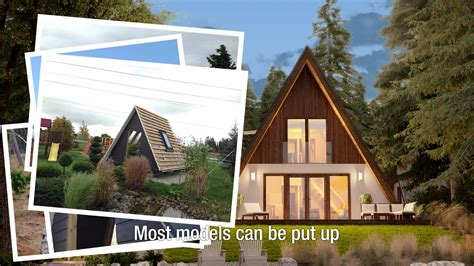 a frame kit house a frame kit homes from avrame youtube