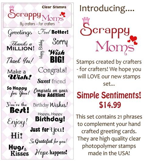 card sentiments scrappy sts november 2010