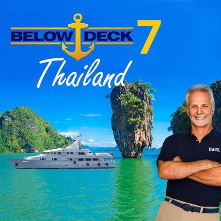 deck thailand luxury yacht bg returns  valor  season  yacht charter fleet