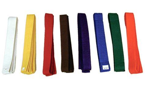 martial arts belt colors martial arts belt orange gtta724 2 obi belts