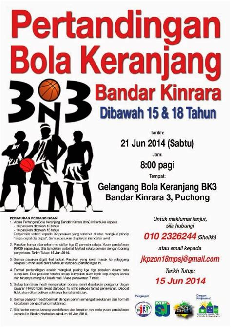 bandar kinrara bk 3 3 on 3 basketball tournament