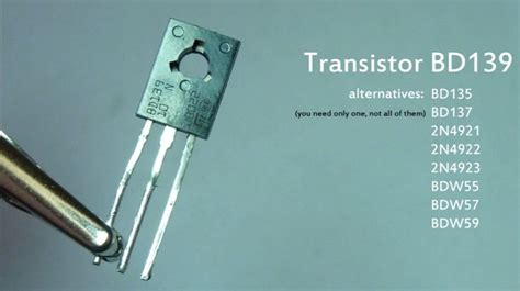 bd139 transistor circuit building a simple wireless energy transfer circuit step by step