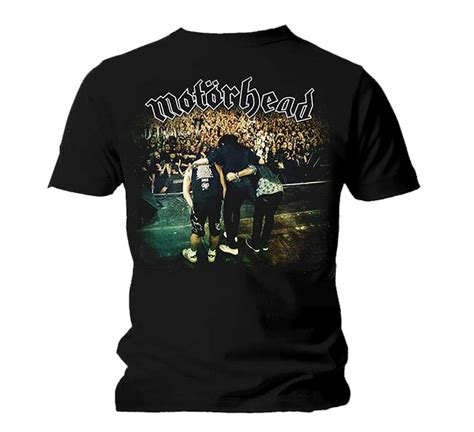 Kaos Band Motorhead Merchendise Official 01 official t shirt motorhead lemmy colour clean your clock all sizes
