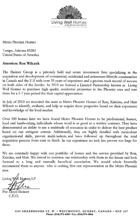 real estate referral letter examples abcom