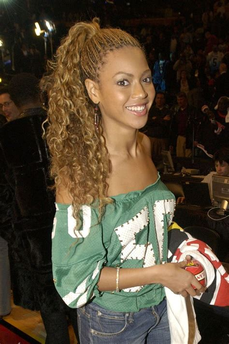 Beyounce Knowles Long Curls Braids Plated Best 20  Beyonce