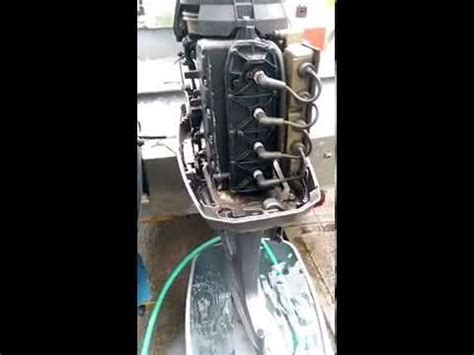 boat engine knocking mercury outboard motor with hole in block doovi