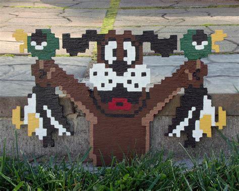 Catalogs With Home Decor nintendo nes 8 bit 3d wooden pixel art the green head