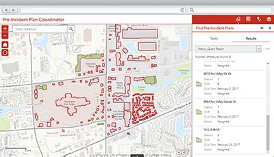 Pre Incident Plan Coordinator Arcgis Solutions For Local Government Department Pre Plan Template