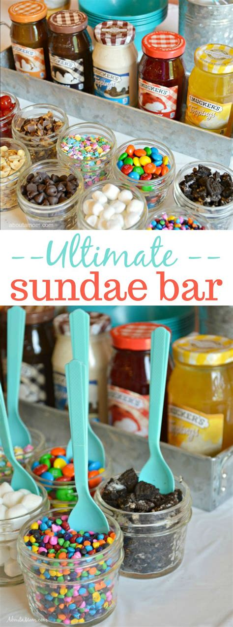 sundae bar topping ideas 25 b 228 sta sundae bar id 233 erna p 229 pinterest partyid 233 er