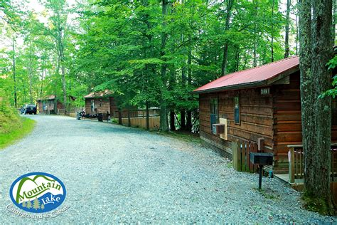 Mountain Lake Cabins by Mountain Lake Cing Cabins Family Cing In