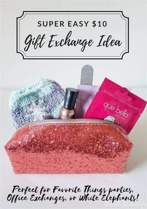 ideas for 10 dollar exchange gift easy and adorable 10 gift exchange present idea dwell beautiful