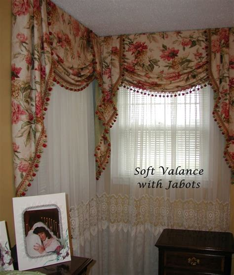 valances for bedrooms board mounted valances traditional bedroom other