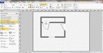 House Plans With Basement 24 X 44 microsoft visio floor plan youtube