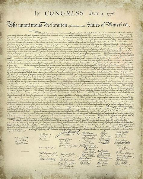 printable us constitution free printable declaration of independence great for 4th